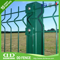 ISO9001 certified types of fences for residential/triton profile welded wire mesh fence/ from China (factory)/DD-FENCE