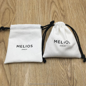 Canvas Drawstring Pouch For Jewelry