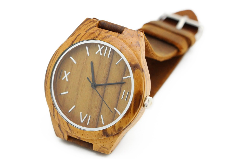 by wood watches with lux woods custom engraving l zebrawood the watch wooden of parkchester personalized