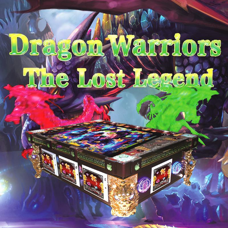 3d Arcade Dragon Warriors Game Fish Hunter Watch Fish Bull
