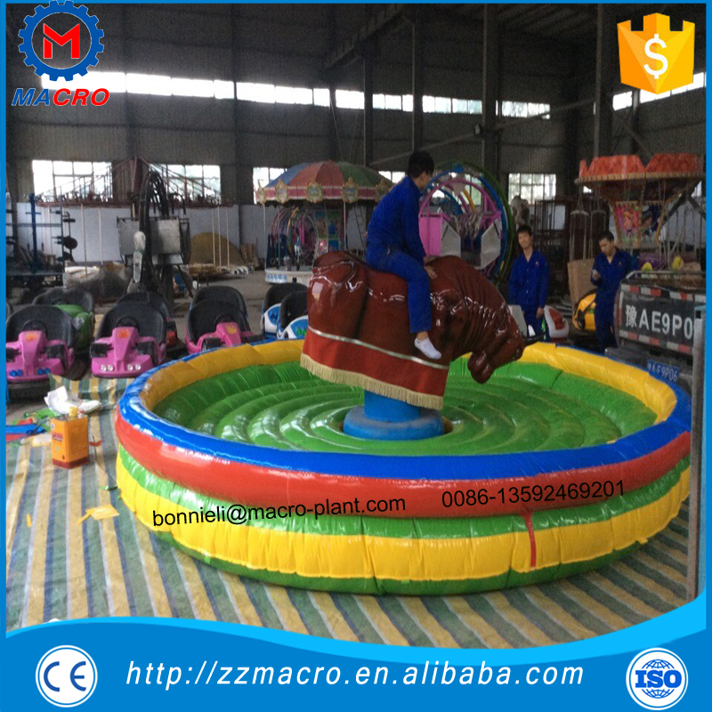 Inflatable Rodeo Bull Riding Machine,Crazy Inflatable Bull Rodeo Simulator