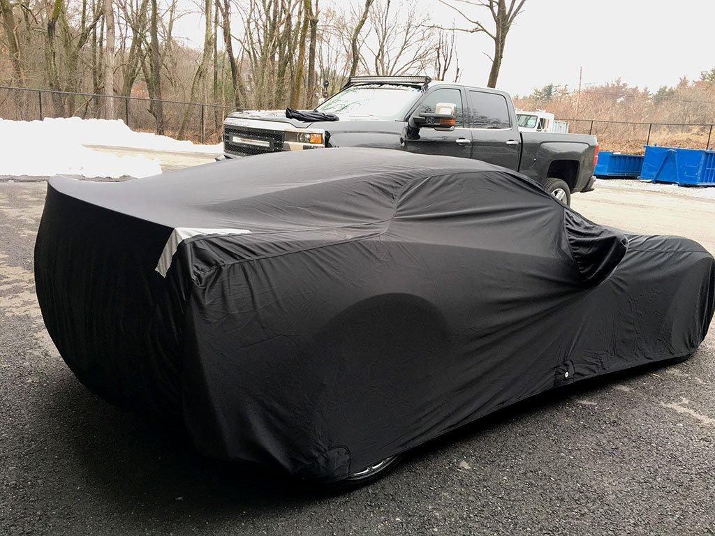 (Convertible) Chevrolet Corvette ZR-1 2009 - 2011 Select-Fleece Car Cover Kit