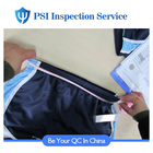3rd party inspection garment pre-shipment inspector random choose inspection service