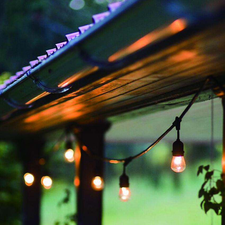String Lights Weatherproof Commercial