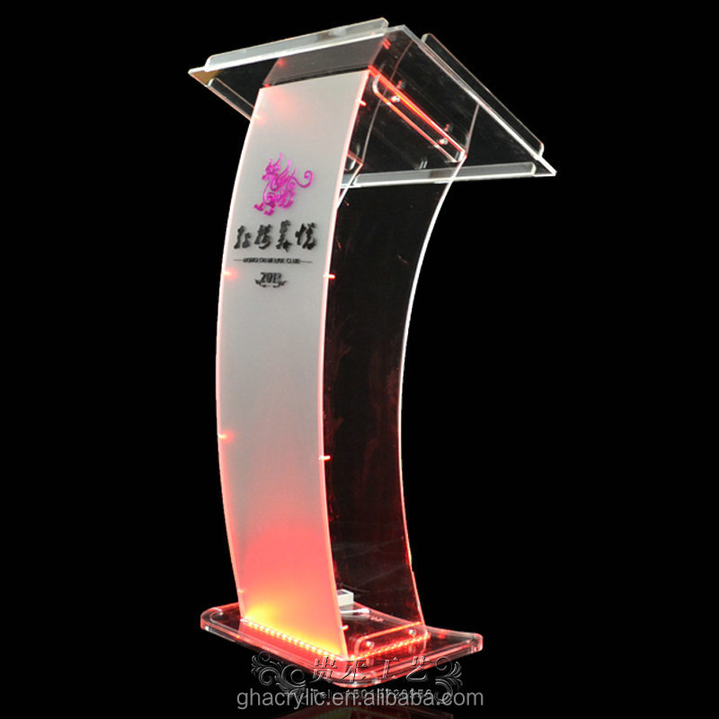 Hot Sale On Alibaba Factory Outlet Acrylic Podium Led Church ...