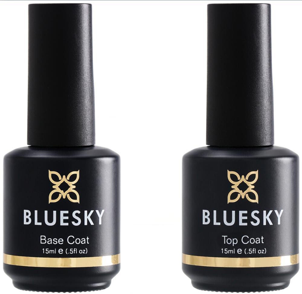 Bluesky Top Lady\'s Base And Top Coat Gel Nail Polish Easy Soak Off ...