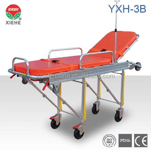 Yxh-3b Folding Ambulance Stretcher