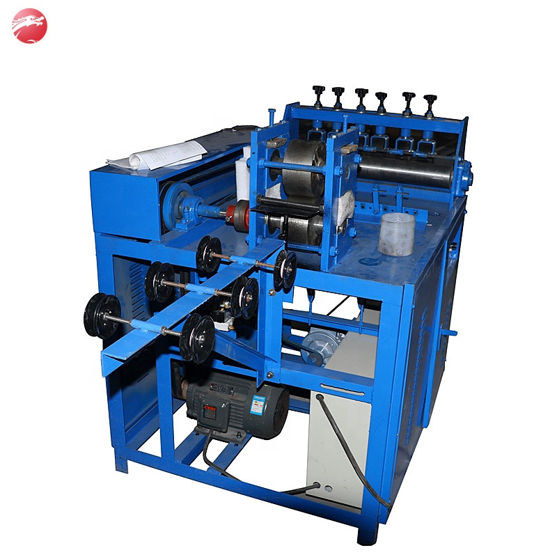 Factory direct sales steel wool scourer making machine, scourer machine tools
