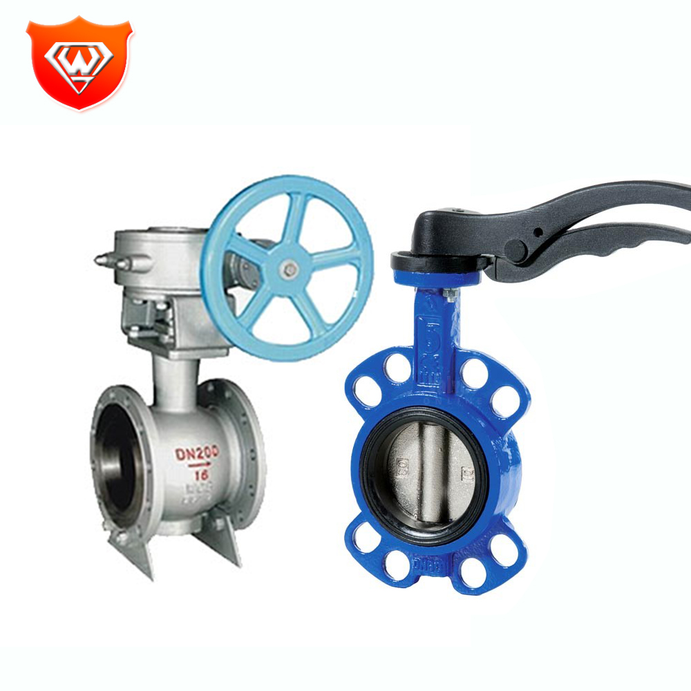 Low price cast iron valves exhaust butterfly damper