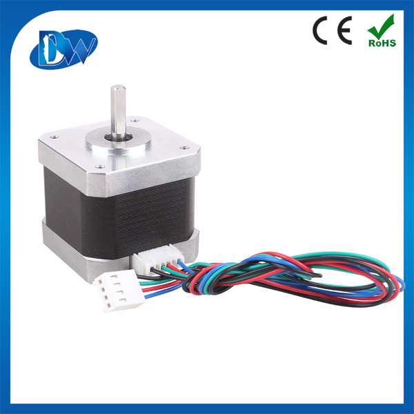Best price 0.9 degree 0.7A nema 14 stepper motor with 4 wires in series