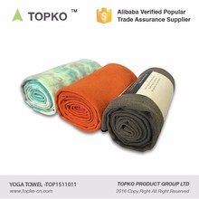 TOPKO hot sale microfiber private label absorbent hot yoga towel