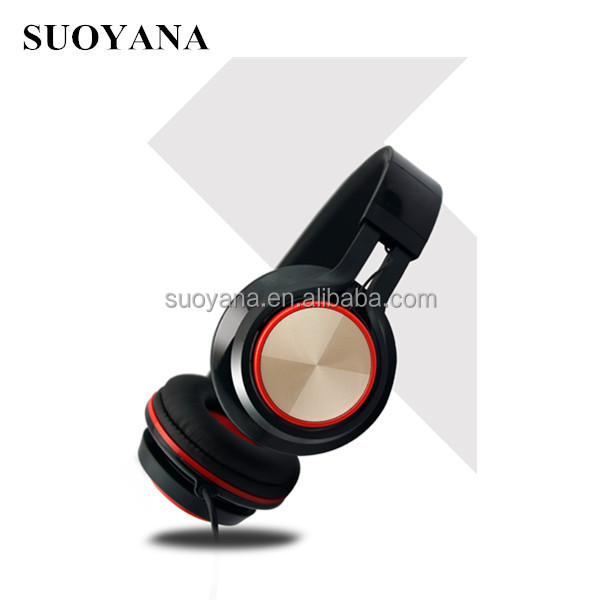 Big earmuff headphone with detachable cable and stereo disposable headphone cover