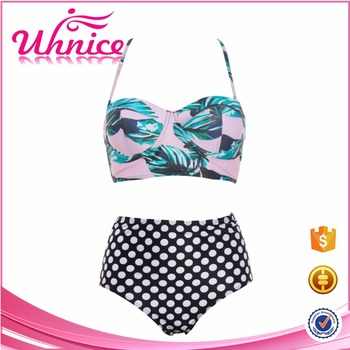 Summer Fashion Beachwear Japan Tiny Solid Color Swimsuit