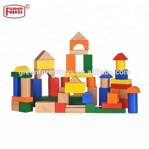 Supplier Of Wood Toys In China Rubber Building Blocks