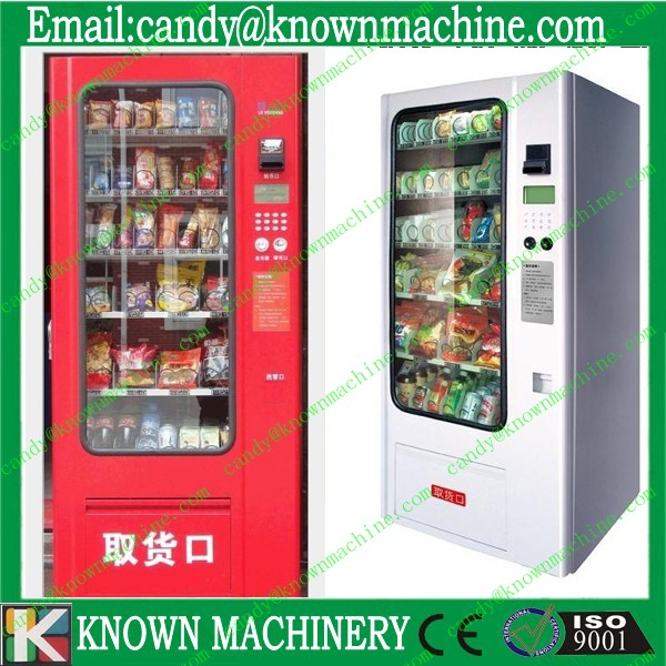 snack vending machine / clothes vending machine