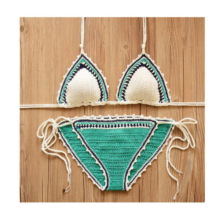 1a736b29fa61 Venta al por mayor traje de baño crochet-Compre online los mejores ...
