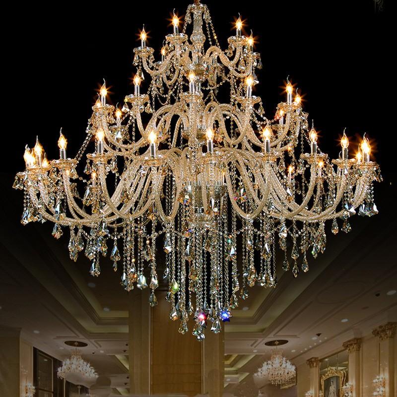 Georgian Chandelier: New Design Georgian Style Big Crystal Chandelier Lighting