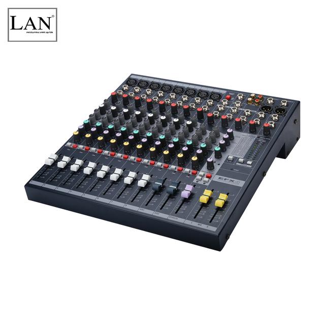 Newly designed professional studio recording powered audio mixer mixing console EFX8