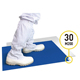 "26""*45"" Disposable PE Decontaminating Sticky Mat For Cleanroom"