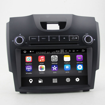 8 inch android car dvd player for chevrolet s10/ ISUZU D-MAX with wifi/bt/swc/obd/gps/camera