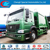 HOWO 6m3 Waste Compression type Garbage Truck, Side Loading Garbage Compactor Truck, Rear garbage compactor Truck