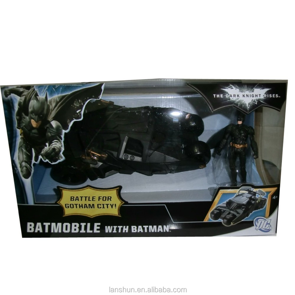 DC The Dark Knight Rises Battle for Gotham City Batmobile with Batman Figure