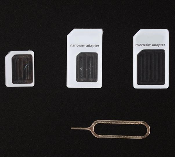 76fbff6fb7f TGF002 5 en 1 Nano Micro SIM Adaptador expulsar Pin para teléfono móvil con tarjeta  SIM