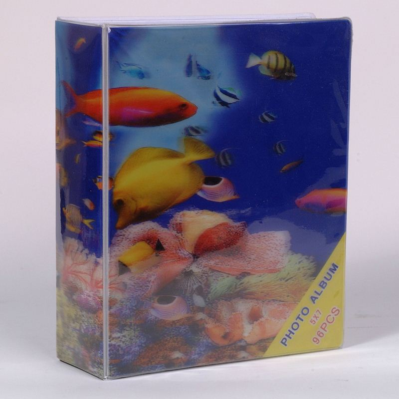 2015 Plastic Beautiful Large Size Photo Album for Photo