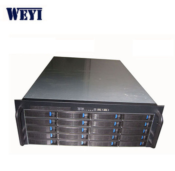 4U 20 storage server chassis with hot swap, View storage server, oem  Product Details from Shenzhen Weyi Precision Industries Co , Limited on