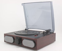 Portable jukebox phono phonograph music box with usb sd encoding