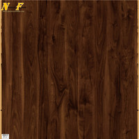 Imitated solid wood walnt 11mm mirror laminate flooring