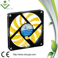 12 volts 80mm super thin dc cooling fan 80x80x10mm for computer cooling