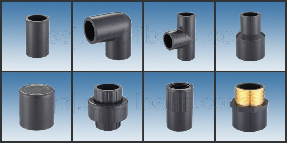 Best quality names of pvc pipe fittings hot sale elbow