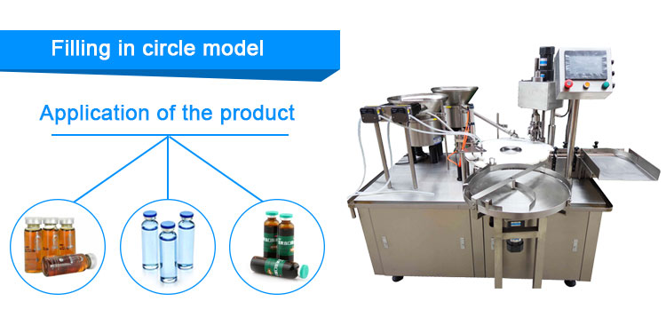 Perfume Bottle Essential Oil Filling And Capping Machine