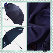 waterproof coated DTY 100% polyester 190t pongee umbrella fabric