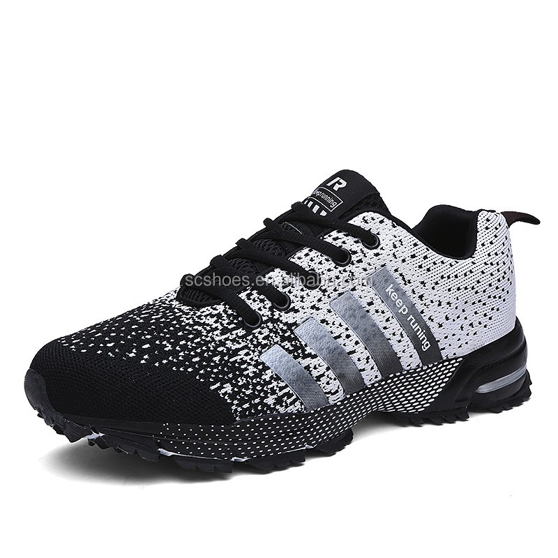 2016 new model light weight special fabric airs sports <strong>shoes</strong> for men black