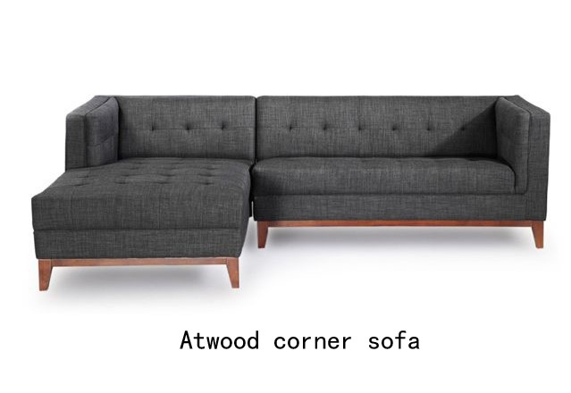 Mid Century Corner Sofa Peggy Mid Century L Shaped Sectional West Elm The Realreal