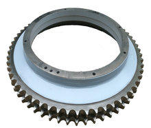 Detachable excavator sprocket wheel