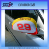 custom design car side mirror cover for advertisement