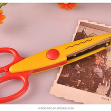 M065 wholesale high quality custom decorating paper photo cutting scissors for shape cutting
