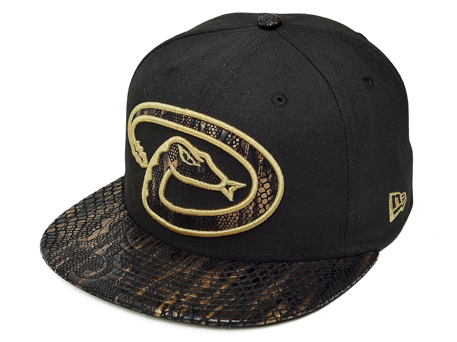 b4d4a4c1b0b5cd ... shop get quotations new era 59fifty new york yankees metallic snake  vize mens fitted hat 84a43
