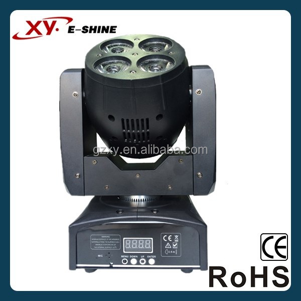 stage decoration 8*15W RGBW 4-in-1 moving head beam wash led lighting