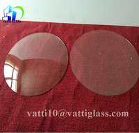 Round convex clock glass,wall clock glass sheet