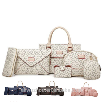 085e3d6320 Wholesale Ladies Hand bag Set Fashion 3 Piece Set Lady PU Shoulder Bag  Designer Handbags Shoulder