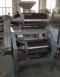 2 tons/hour fruit pitting mashing machine