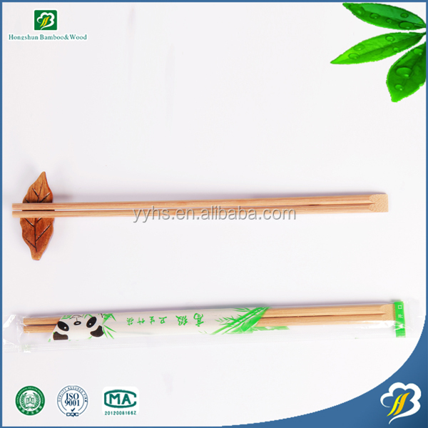 Food grade nature white bamboo chopsticks to Thailand