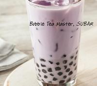 Taiwan Bubble Tea Milk and Pearl Tapioca Taro powder