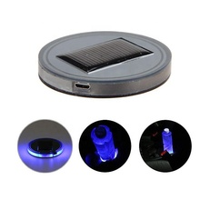 Auto Accessoires LED Light Cover Solar Cup Pad
