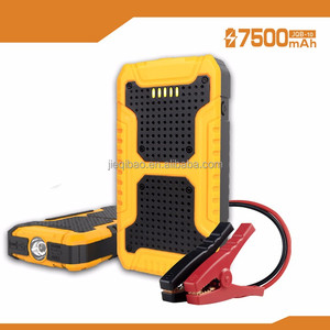 7500mAh Compact Size Jump Starter for Emergency Tools and Smart Clamps Spark Free