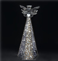 Creative christmas goods for sales at chinese website|, 22cm cheap glass sonny angel, with beautiful dress as home decor